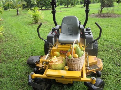 fruit tractor