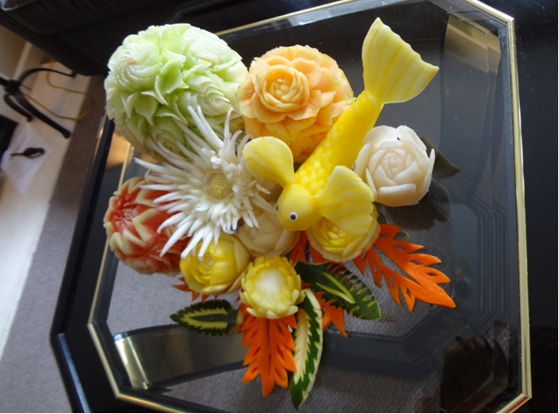 Advanced fruit and vegetable carving lessons thai creations