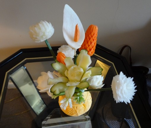 advanced student fruit and vegetable carving