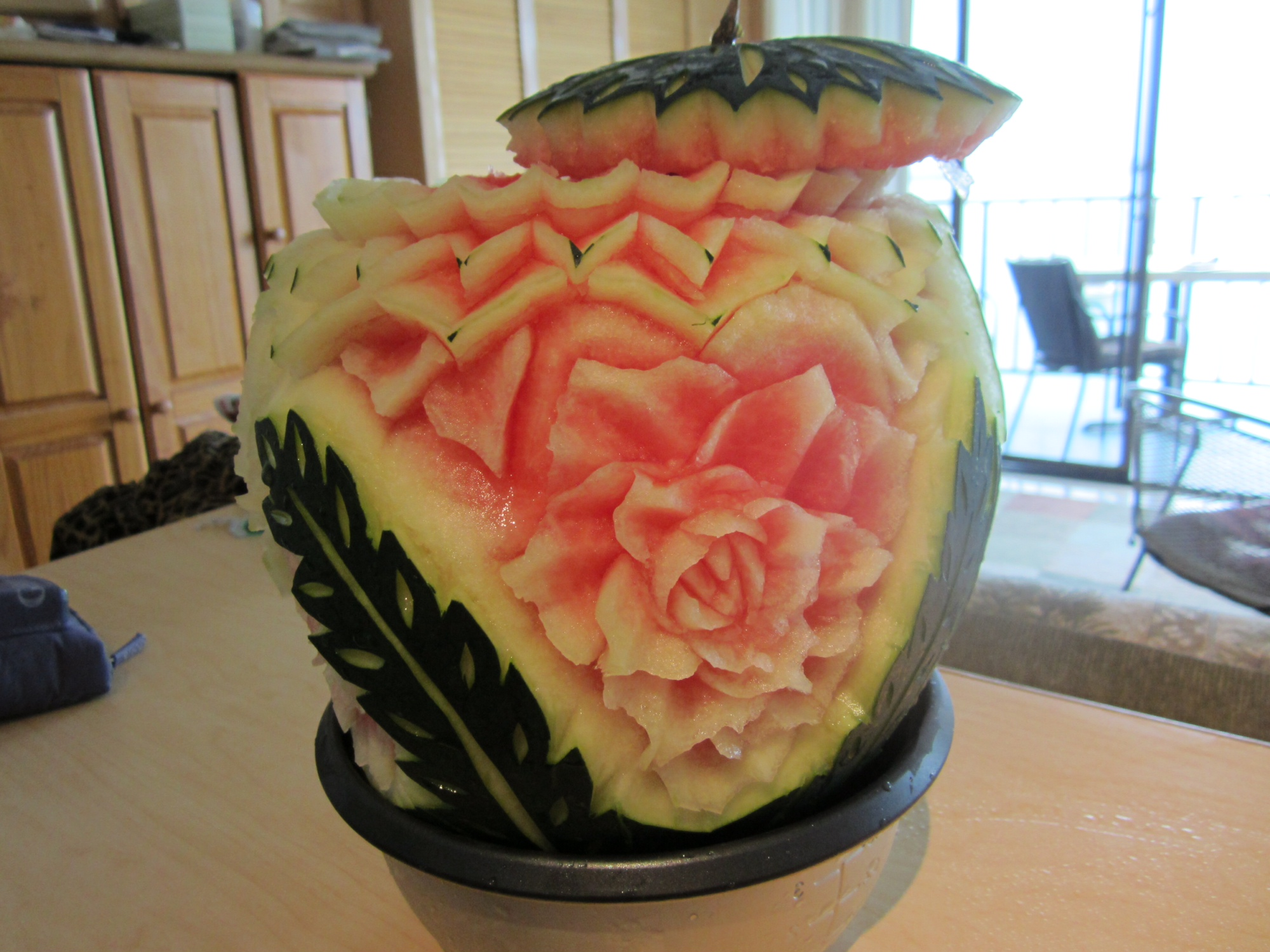 How to prepare for fruit and vegetable carving thai