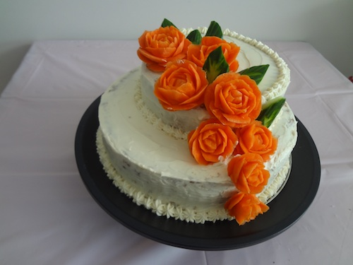 Carrot Cake Carving
