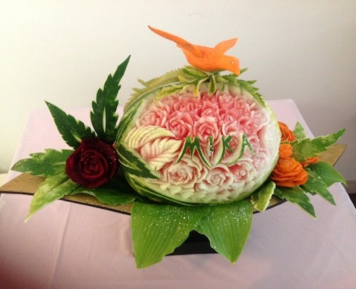 Mika Watermelon Carving