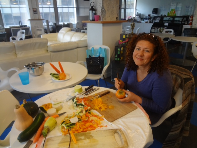 Vancouver fruit and vegetable carving class