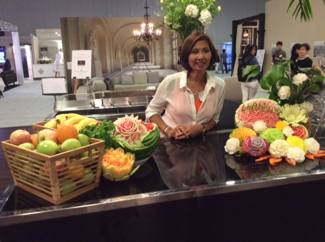 Sam Chemko of Thai Creations Fruit and Vegetable Carving