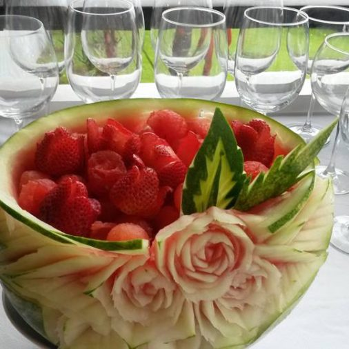 Vodka Watermelon Carving